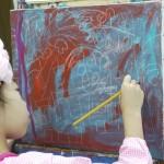 2016年9月4日(日)「キャンバスに描こう(自由課題)1」