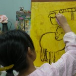 2016年9月10日(土)「キャンバスに描こう(自由課題)2」
