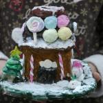 2016年12月19日(月)「お菓子の家の貯金箱(ねんど工作)3」