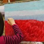 2017年1月19日(木)「キャンバスに描こう(自由課題)」
