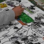 2017年2月14日(火)「キャンバスに描こう(自由課題)」