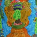みらいの木版「アルチンボルドに捧ぐ野菜フルーツ人間」画集