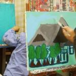 2017年10月10日(火)「キャンバスに描こう」