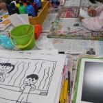2017年10月16日(月)「キャンバスに描こう」