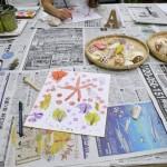 2018年8月23日(木)「色紙に貝殻を描こう」