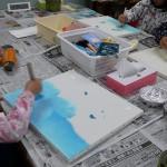 2018年9月2日(日)「キャンバスに描こう1」