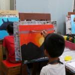 2018年9月13日(木)「キャンバスに描こう2」