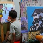 2018年9月25日(火)「キャンバスに描こう3」