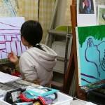 2019年1月16日(水)「キャンバスに描こう」