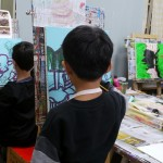 2019年1月22日(火)「キャンバスに描こう」
