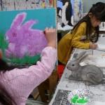 2019年2月11日(月)「キャンバスに描こう」