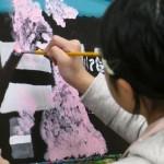 2019年2月13日(水)「キャンバスに描こう」「北斎に挑戦!」