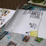 2019年4月21日(日)「商店街の絵本」「パイナップルの水彩画(中高)」