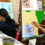 2019年9月14日(土)「キャンバスに描こう」