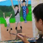 2019年10月8日(火)「キャンバスに描こう」
