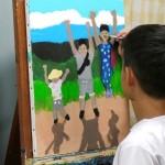 2019年10月15日(火)「キャンバスに描こう」