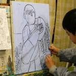 2020年1月6日(月)「キャンバスに描こう(自由課題)」