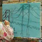 2020年1月7日(火)「キャンバスに描こう(自由課題)」