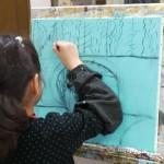 2020年1月8日(水)「キャンバスに描こう(自由課題)」