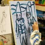 2020年1月10日(金)「キャンバスに描こう(自由課題)」