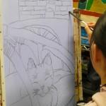 2020年1月11日(土)「キャンバスに描こう(自由課題)」