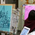 2020年1月12日(日)「キャンバスに描こう(自由課題)」