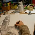 2020年1月18日(土)「キャンバスに描こう(自由課題)」