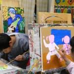2020年1月20日(月)「キャンバスに描こう(自由課題)」