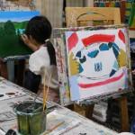 2020年1月22日(水)「キャンバスに描こう(自由課題)」