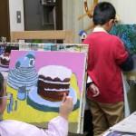 2020年2月1日(土)「キャンバスに描こう(自由課題)」