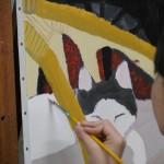 2020年2月15日(土)「キャンバスに描こう(自由課題)」
