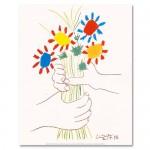 ピカソの「花束を持つ手」