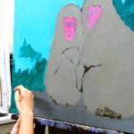 2020年9月26日(土)「キャンバスに描こう」