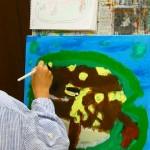 2020年10月1日(木)「キャンバスに描こう」