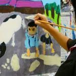 2020年10月13日(火)「キャンバスに描こう」