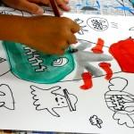 2020年10月15日(木)「キャンバスに描こう」「パンプキンタワー」