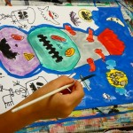 2020年10月29日(木)「キャンバスに描こう」「パンプキンタワー」