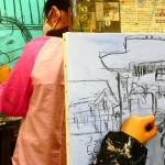2021年1月8日(金)「キャンバスに描こう」