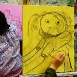 2021年1月15日(金)「キャンバスに描こう」