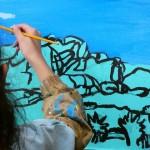 2021年1月20日(水)「キャンバスに描こう」