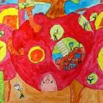 フルーツの国(空想画)